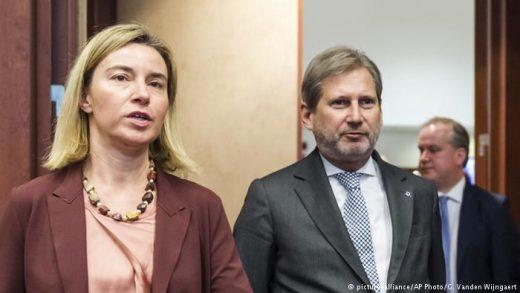 Хан и Могерини без одговор зошто нема ЕУ за Македонија